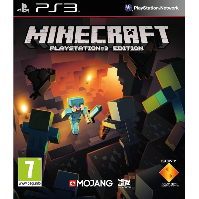 Jeu PS3 Minecraft
