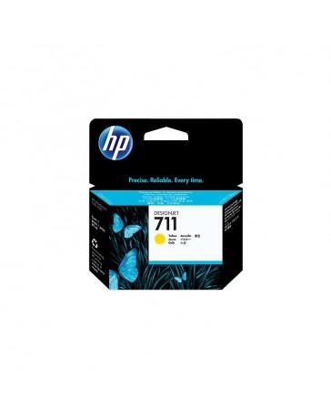 Cartouche d'encre HP 711 Jaune