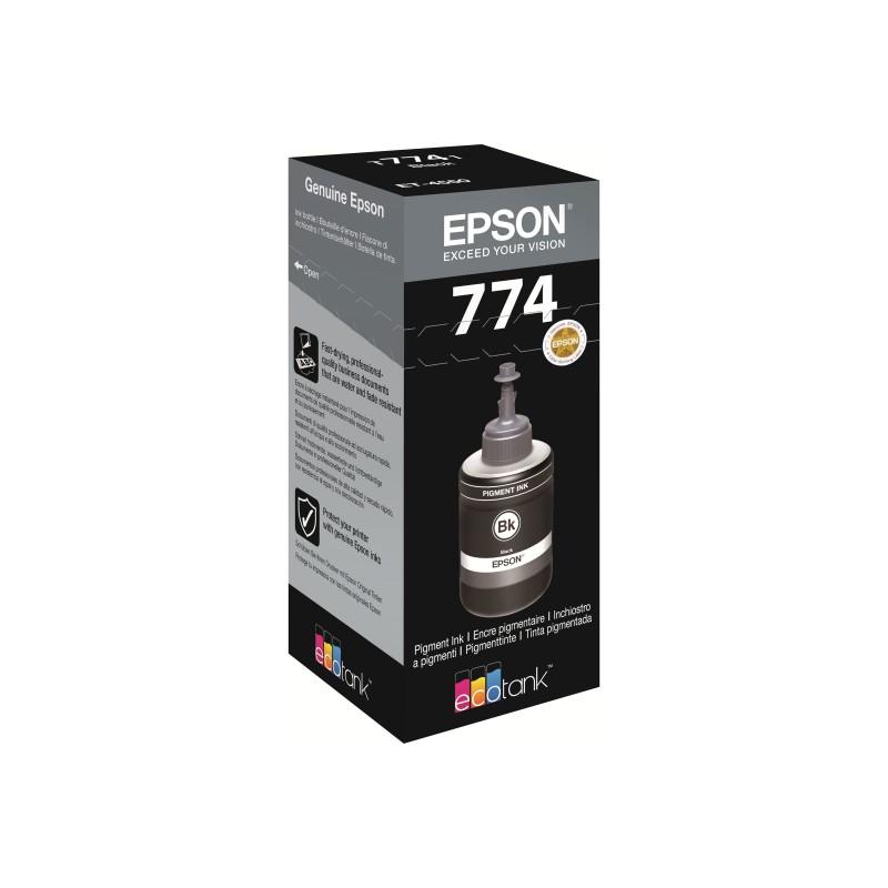 Bouteille d'encre Epson T7741 Noir
