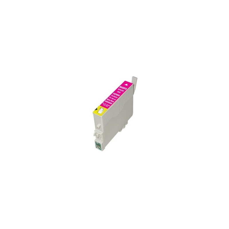 Cartouche d'encre compatible EPSON T0803 Magenta