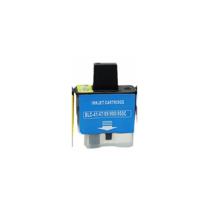 Cartouche D'encre Adaptable Brother -LC09/41/900/47/950 Cyan