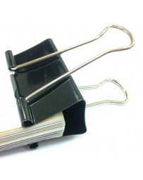 BINDER CLIPS YZW-0001 51MM 12 PCS