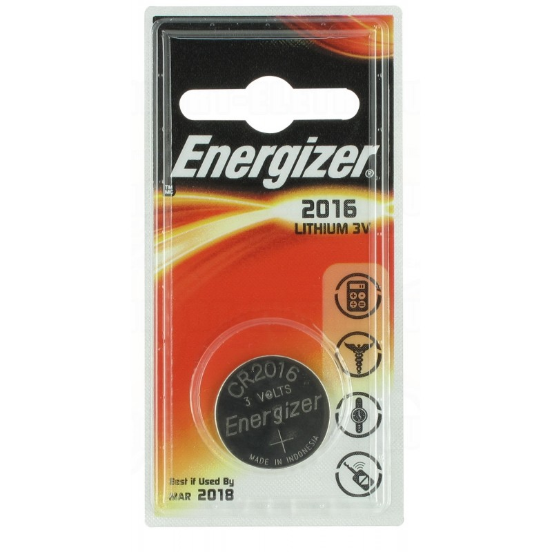 Pile Energizer CR2016 3V au Lithium