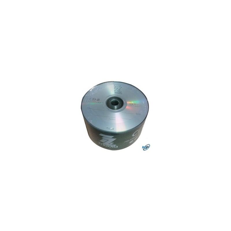 Bobine 50 Pieces CD-R 52X 80MIN MEDIA 700 Mo