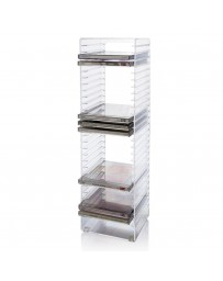 Porte CD Stack Rack 16 pcs