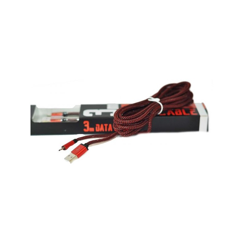 Cable LDNIO micro USB 3m
