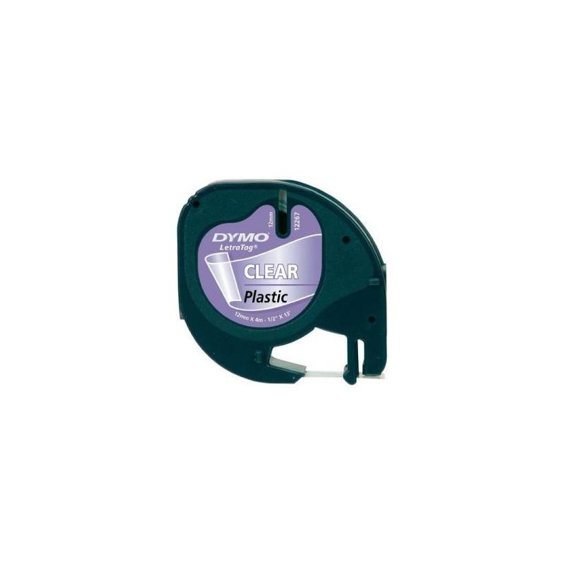 Ruban D'étiquettes DYMO Plastique 16951 Clear 12 Mm X 4 M