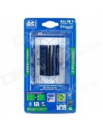 USB 2.0 Lecteur + Bluetooth V2.0 Adaptateur Combo Multi-Card SY-695