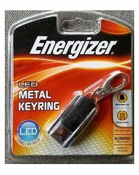 ENERGIZER LED2BUS2 LED Metal Keyring 30 hours Includes CR2032 X2
