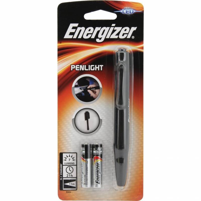 Energizer Pen Light, LED, Battery Powered, Black