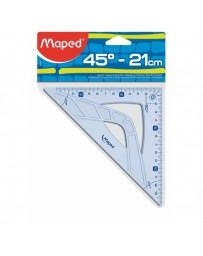 EQUERRES 45 21CM GRAPHIC MAPED 242421