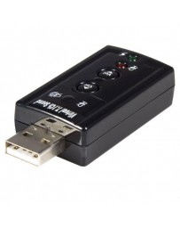 CARTE SON USB VIRTUAL 7.1 CHANNEL SOUND