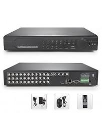DVR 16 PORT+ 4 AUDIO +PTZ H.264 NETWORK 30-5