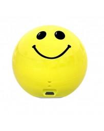 Mini Haut-parleur PROMATE Bluetooth Smiloji Emoji Jaune