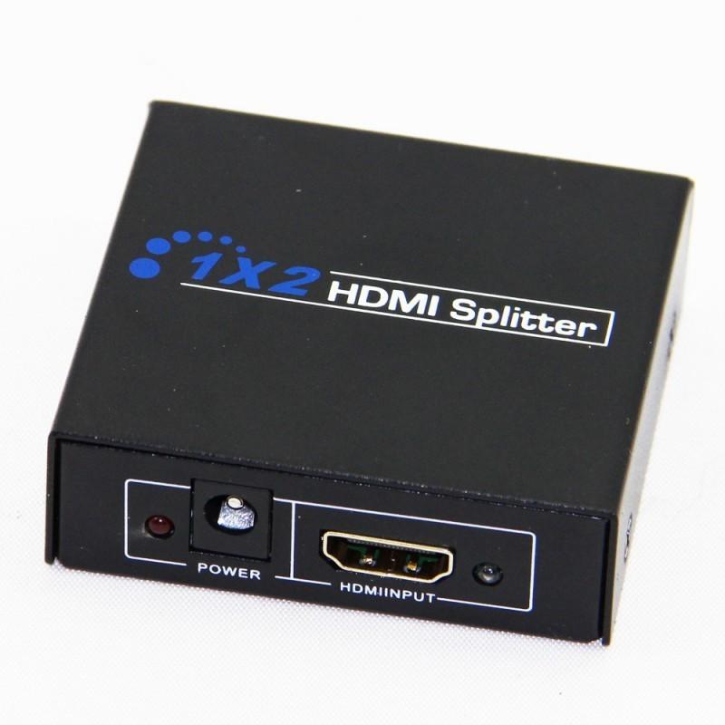 SWITCHEUR HDMI 2 PORTS HDMI SPLITTER HD-102 1080P