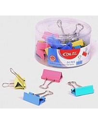 BINDER CLIPS COULEUR YZW-6102 1-13
