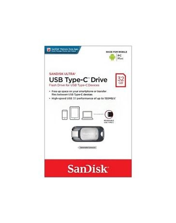 FLASH DISQUE USB TYPE-C DRIVE 32GB SDCZ450-032G-G46