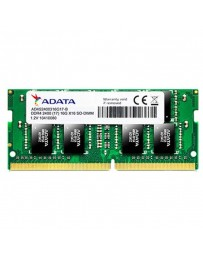 BARETTE MEMOIRE ADATA 4GB DDR4 PC4-19200 SO-DIM POUR PC PORTABLE