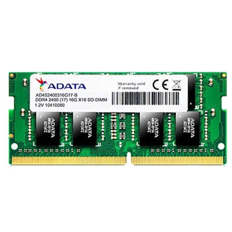 BARETTE MEMOIRE ADATA 4GB DDR4 PC4-19200 SO-DIM POUR PC PORTABLE