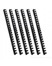 SPIRAL DE 12MM PLASTIC BINDING COMBS PQ100