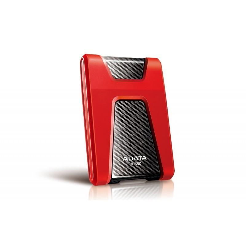 "Disque Dur Externe Anti-Choc ADATA HD650 1To 2.5""-Rouge"