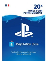 PS4 CARTE PLAYSTATION STORE 20E