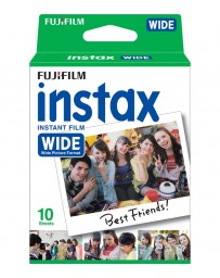 FILM INSTAX WIDE FUJIFILM 10 SHEETS