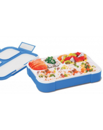 LUNCH BOX BLUE LB01 BX17160