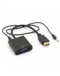 Convertisseur HDMI vers VGA Avec Jack