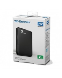 "Disque Dur Externe WESTERN DIGITAL WD 2To USB 3.0 2.5"" - Noir"
