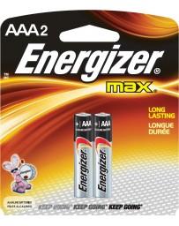 PILE ALKLINE ENERGIZER AAA E92BP2 AALR03