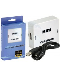CONVERTISSEUR VGA TO HDMI MINI HD VIDEO